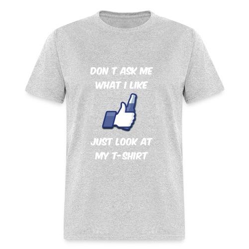 I like beer - Men's T-Shirt