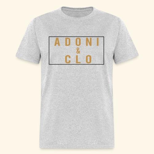 Adoni & Clo Simple Rectangle - Men's T-Shirt