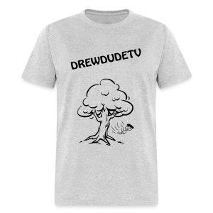 BOY FALLS FROM TREE - Men's T-Shirt
