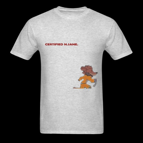 Free Bandicoot (Certified N.Sane). - Men's T-Shirt
