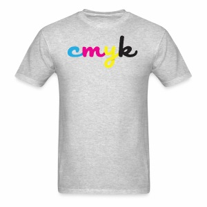 CMYK for Graphic Design Lovers - Men's T-Shirt