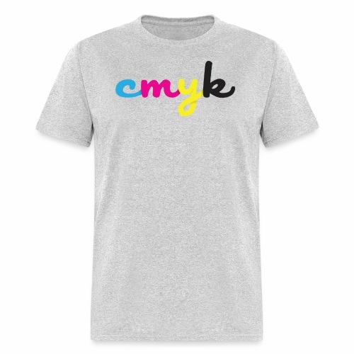 CMYK for Graphic Design Lovers - Men's T-Shirt
