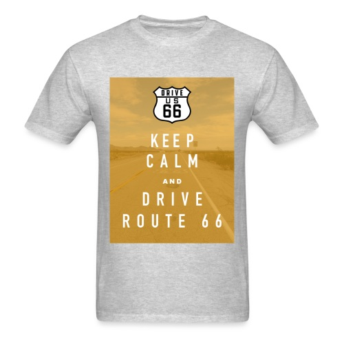 Route 66 Keep Calm T-Shirt - Men's T-Shirt