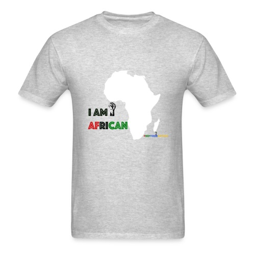 #RepYourNation: I Am African - Men's T-Shirt