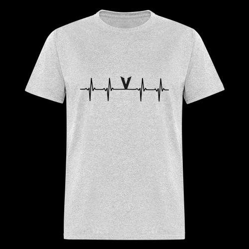 V EKG - Men's T-Shirt