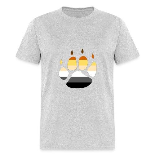 Bear PRIDE PAW - Men's T-Shirt