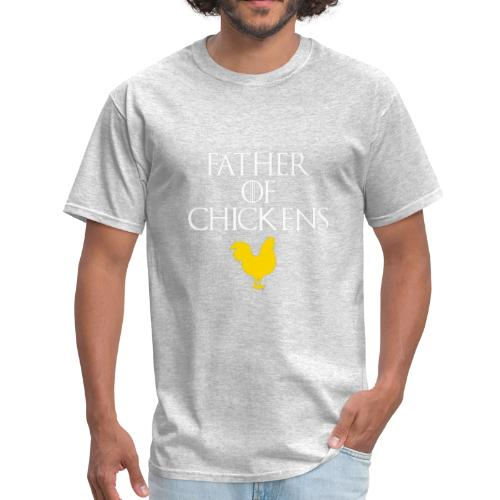 Cute FATHER OF CHICKENS T shirt Chicken Accessorie - Men's T-Shirt