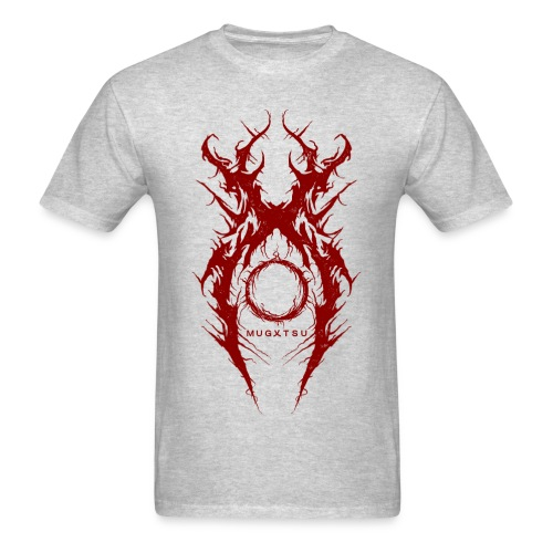 MUGXTSU Red X Logo - Men's T-Shirt