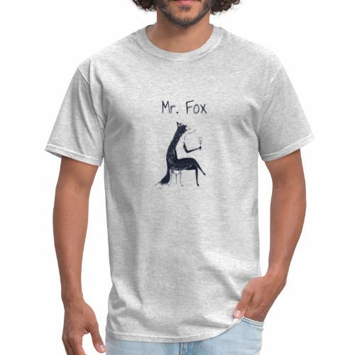 fox drinks vine - Men's T-Shirt