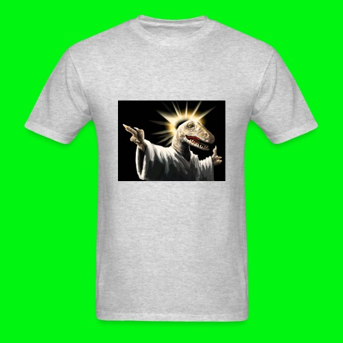 Raptor Jesus - Men's T-Shirt
