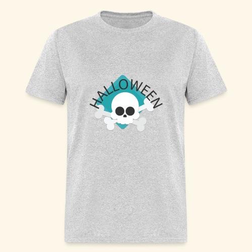 Halloween Skull2 - Men's T-Shirt