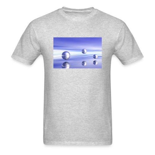 Ball Landscape in 3D - Men's T-Shirt