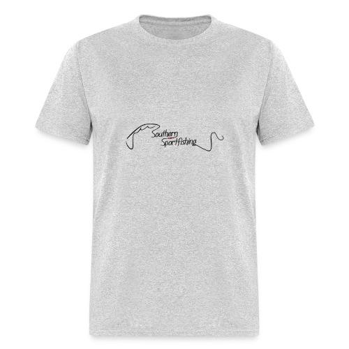 Southern Sportfishing - Black Logo - Men's T-Shirt