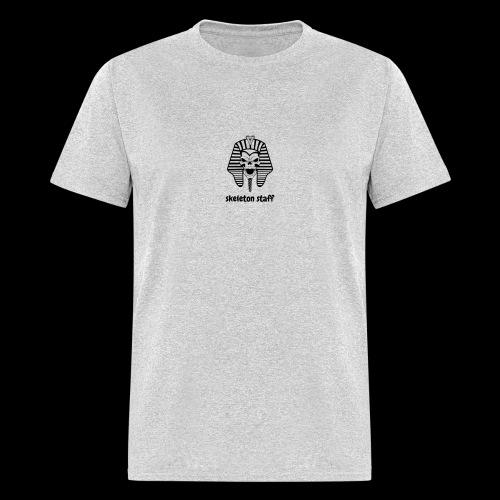 skeleton staff shirt - Men's T-Shirt