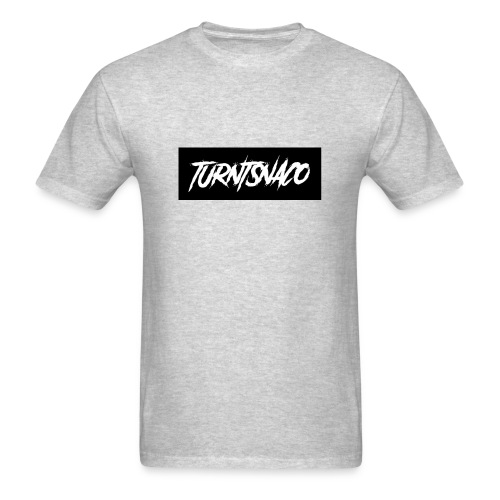 Turntsnaco - logo - Men's T-Shirt