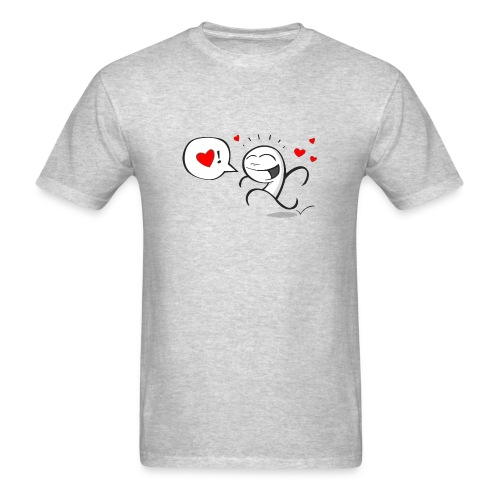 Wherever you go, go with all your heart - Men's T-Shirt