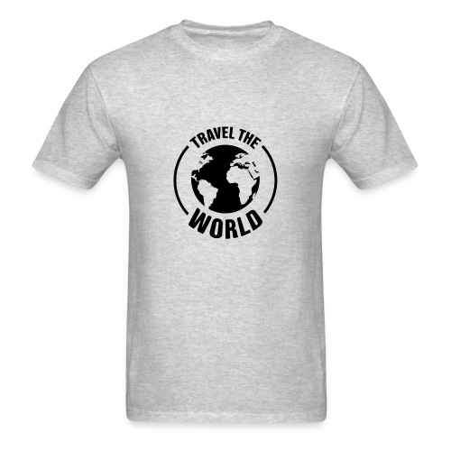 travel the world by Own T-shirt Designs - Men's T-Shirt