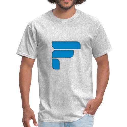 Frosty Blue Logo Center - Men's T-Shirt