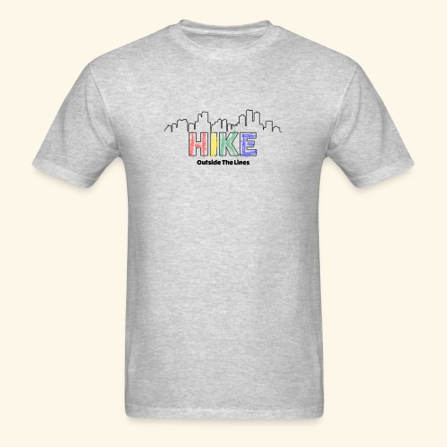 Hike Outside The Lines - Men's T-Shirt