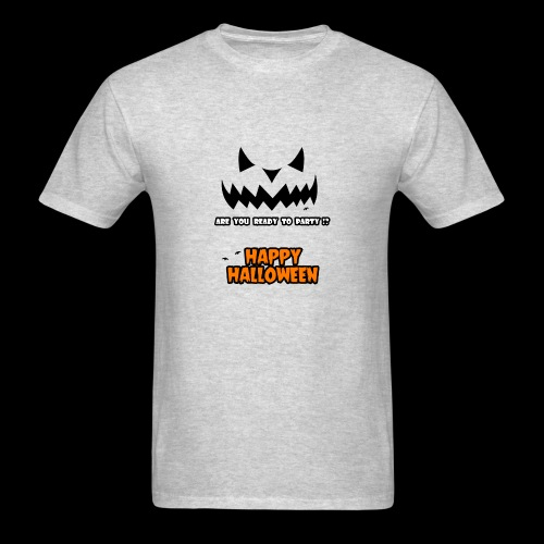 happy halloween day t-shirt for men, women , youth - Men's T-Shirt