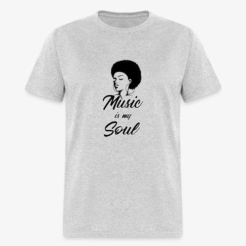 Music Is My Soul - Men's T-Shirt