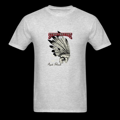 STRAIGHT NATIVE SKULL - Men's T-Shirt