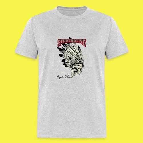 STRAIGHT NATIVE SKULL - Men's T-Shirt