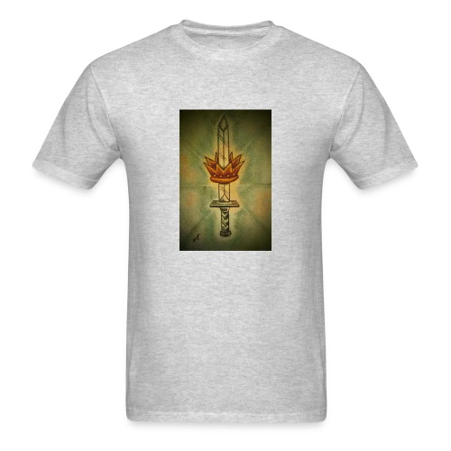 received 213912709372361 sword of life - Men's T-Shirt