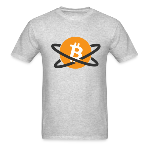 BitcoinPlanet - Men's T-Shirt