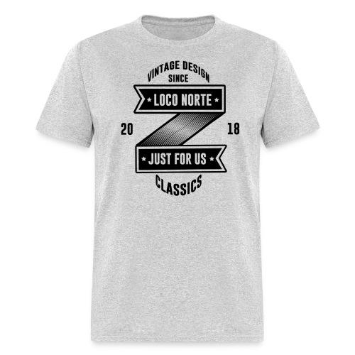 Loco Norte - retro design - Men's T-Shirt