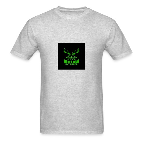Outlaw Outdoors Logo 2 - Men's T-Shirt