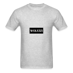 wolfzzishirtlogo - Men's T-Shirt