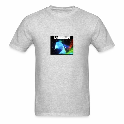LASERIUM Laser spiral - Men's T-Shirt