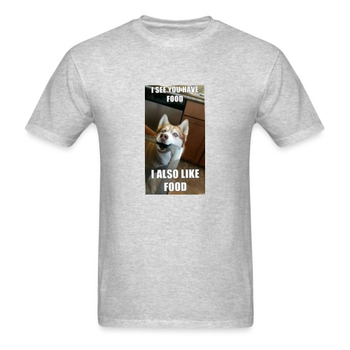 My dog be like - Men's T-Shirt