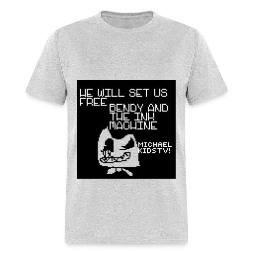 PIXIL Bendy Stuff - Men's T-Shirt