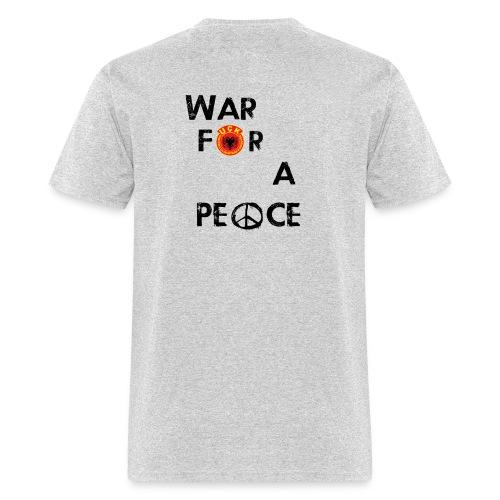 UCK-KLA War for a peace - GunsOfAlbania Design - Men's T-Shirt