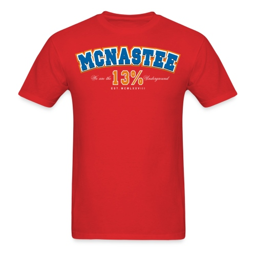 mcnasteeathletictee - Men's T-Shirt