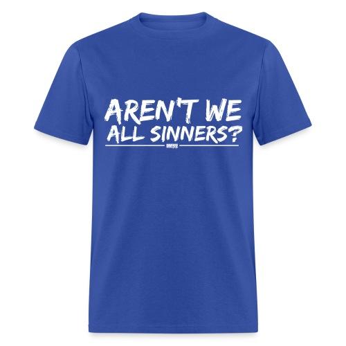awas white - Men's T-Shirt