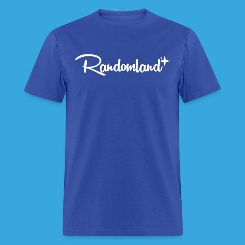 Randomland White Logo - Men's T-Shirt