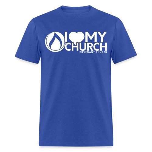 Iheartmychurch logo - Men's T-Shirt