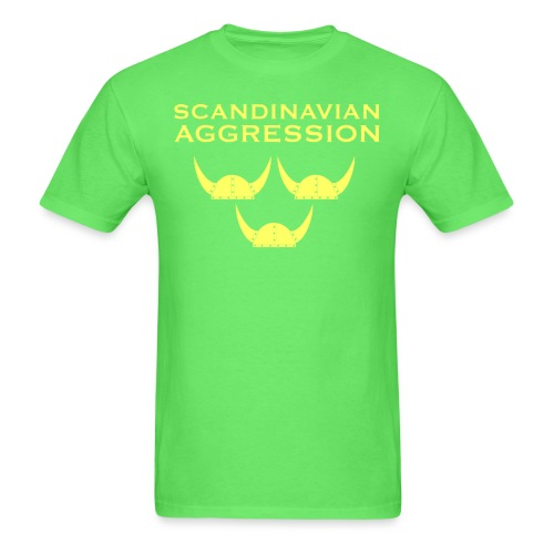 Tre Hjälmar Single-Sided T-Shirt - Men's T-Shirt