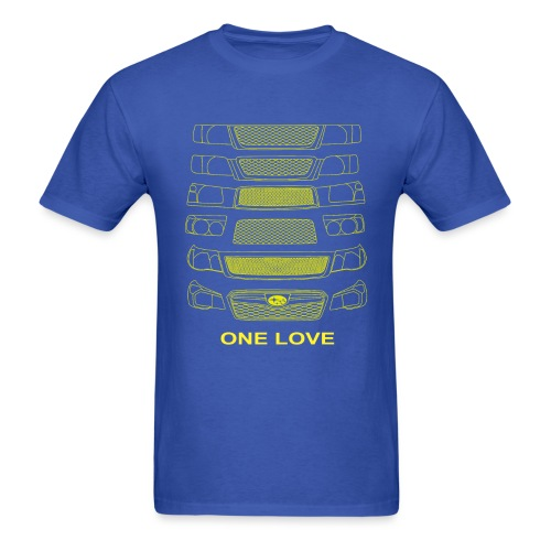 fozz Shirt yellow print - Men's T-Shirt