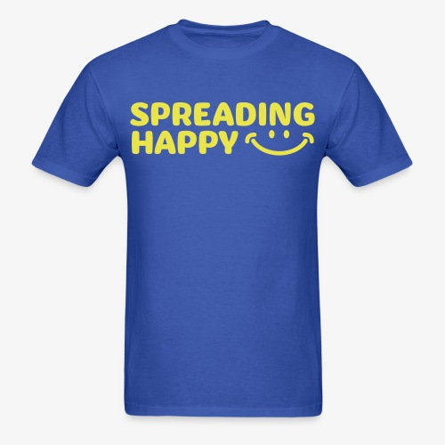 Women's Spreading Happy Turquoise T-Shirt - Men's T-Shirt
