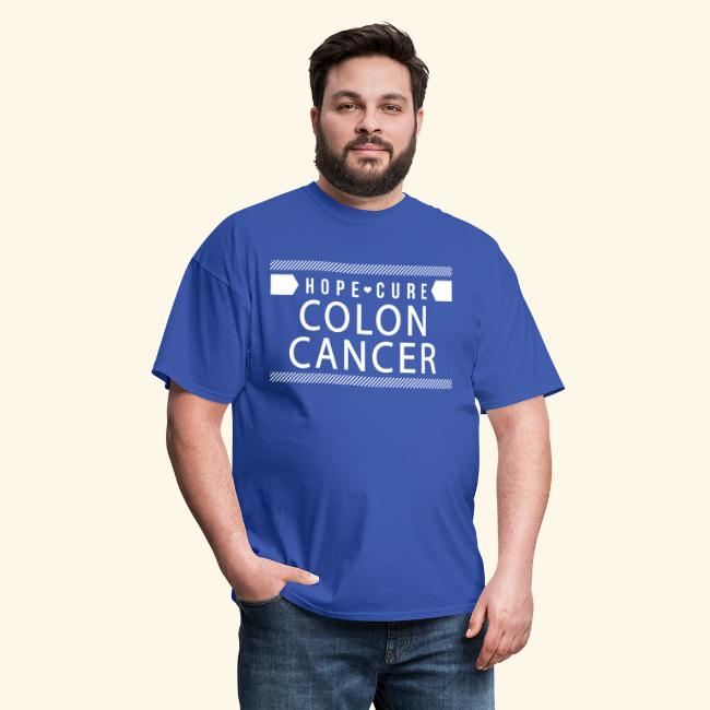 Colon Cancer Awareness Mens T Shirt Homewise Shopper