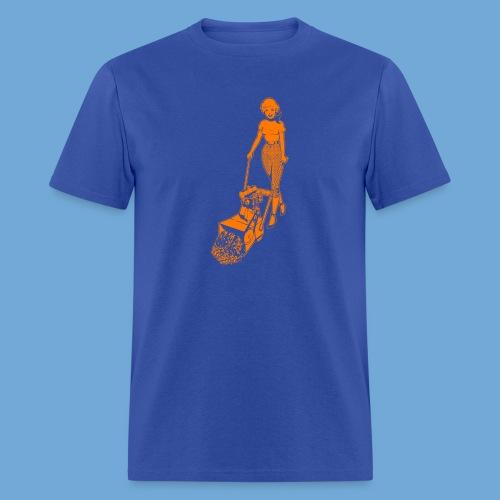 Roto-Hoe Orange - Men's T-Shirt
