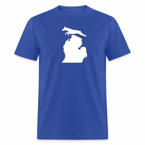 Doberman Bark Michigan Children's Shirt - Men's T-Shirt