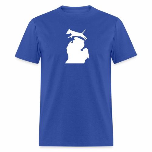 Bull terrier michigan shirt womens - Men's T-Shirt