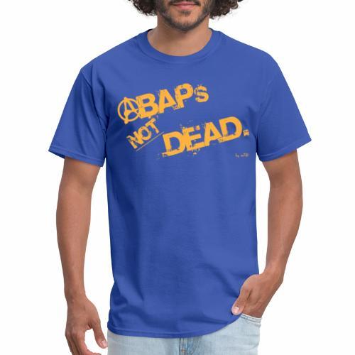 ABAPsNotDead orange - Men's T-Shirt