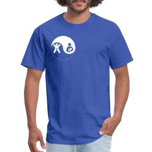 GA BF Yin Yang White - Men's T-Shirt