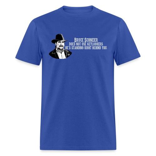 schneier11 cowboy white - Men's T-Shirt